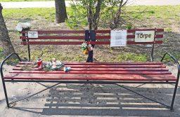Emlékpad egy hajléktalanért